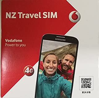Vodafone NZ Travel SIM 10 GB + Unlimited NZ mins + 200 mins and 200 Texts back home for 60 Days