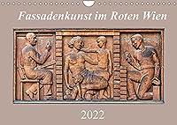 Fassadenkunst im Roten Wien (Wandkalender 2022 DIN A4 quer): Kunstgalerie der Arbeiter (Monatskalender, 14 Seiten )