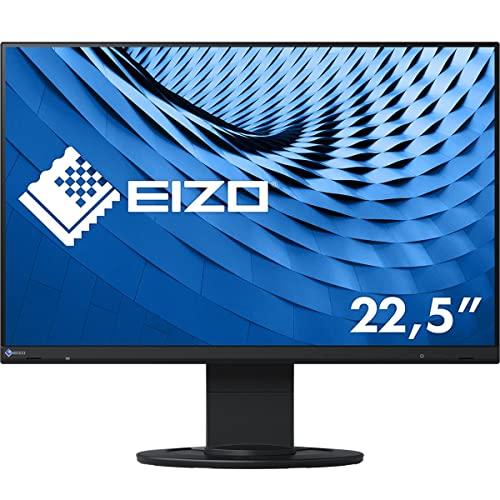 EIZO 22.5型フレームレスモニターFlexScan EV2360-BK(1920×1200/アンチグレアIPS/疲れ目軽減/ブラック/5年...