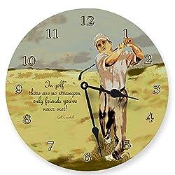 Lexington Studio Golf Swing Round Clock, 10