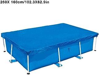Cobertor Para Piscina Rectangular ,Cubierta De Verano - Cubierta De Polvo A Prueba De Lluvia- 7.21x4.92 Pies - 8.53x5.25 Pies - 9.84x6.56 Pies - 13.12x6.92 Pies- Disponible En Cuatro Tamanos