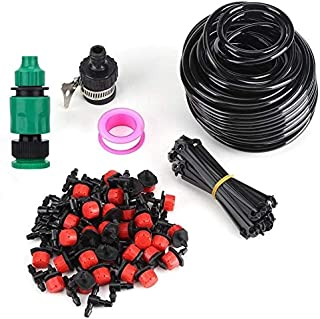 SHUIQUAN Garden irrigation system, irrigation hose set for DIY automatic water saving garden irrigation equipment