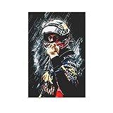 RTYHJ Sebastian Vettel Poster, dekoratives Gemälde,