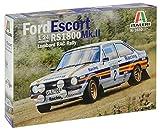 Italeri 3650 Modelo de plástico para Montar, Coche, Ford Escort RS 1800 MK.II Lombard Rac Rally, Modelo Kit, Escala 1:24