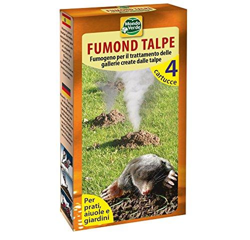 1 paquete de 4 unidades profesionales de ratas topos ciegos topos repelentes de humo (hasta 50 m²).