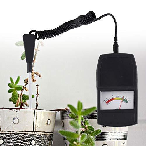Fdit GLOGLOW Medidor de pH del Suelo 2 en 1 para Cultivos, Flores, Flores, Sensor de Humedad/luz