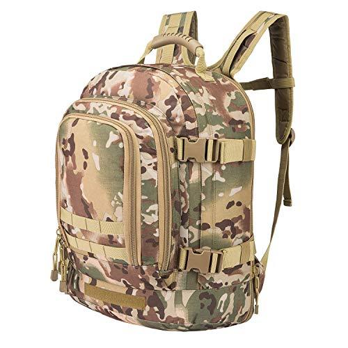 GreenCity Mens Backpack Military Backpacks Tactical 3 Day Expandable Bag