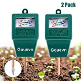 10. Gouevn 2pack Soil Moisture Meter, Hygrometer Soil Plant Water Meter, Plant Moisture Meter Indoor & Outdoor for Potted Plants, Lawns, Succulent (No Batteries Required)
