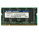 512 MB RAM PC portátil SODIMM Super Talent d266sc512 DDR1 PC-2100 266 mhz