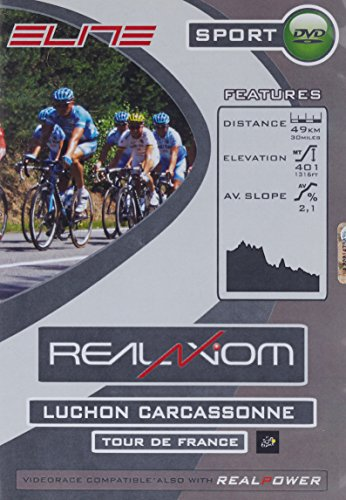 Elite DVD TdF Luchon-Carcassonne Real Axiom/Real Power Accessoire Trainer