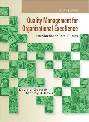 Quality Management for Organizational Excellence:...