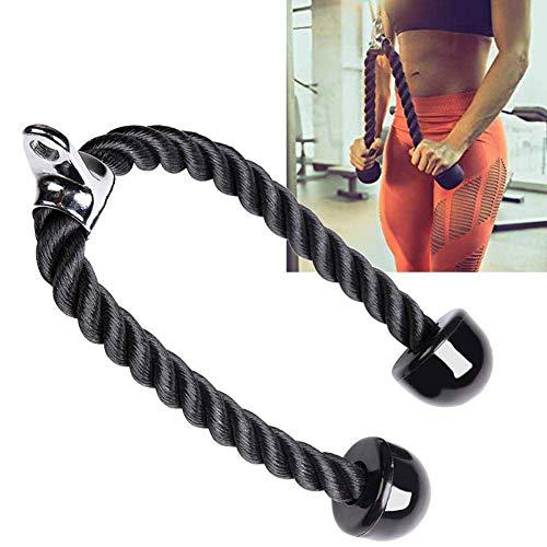 ZYEZI Cuerda para tríceps, Resistente Martillo para Fitness