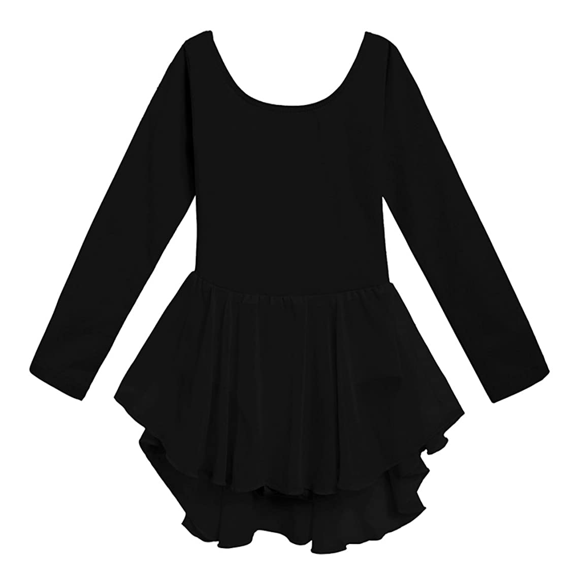 Arshiner Kids Girls Classic Long Sleeve Leotard Dance Ballet Dress