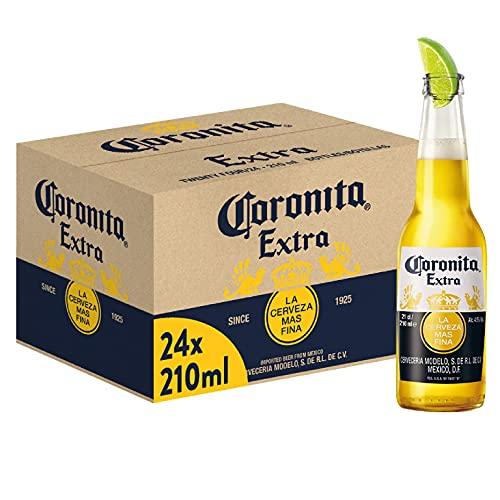 Coronita Birra Bottiglia, Pacco da 24 x 210 ml
