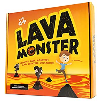 JumpOff Jo Lava Monster Hot Lava Survival Game for Kids and Adults Physical & Educational