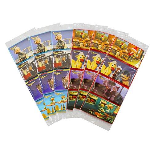 6er Pack Rotstern Sandmann-Tafeln (6 x 4 Tafeln à 15 g) Milchschokolade, Vollmilchschokolade, Schokotäfelchen, Sandmanntafeln