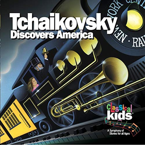 Tchaikovsky Discovers America audiobook cover art