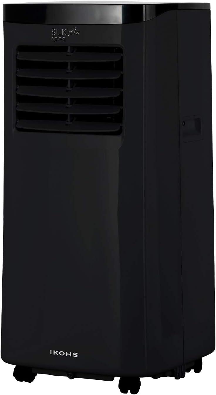 flusso daria 350 m3//h ventilazione copertura fino a 20 m2 bianco IKOHS Silkair Clima telecomando a distanza Condizionatore portatile 3 in 1 timer silenzioso raffreddamento deumidificazione
