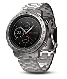 Garmin Fenix Chronos, Steel with Brushed Stainless Steel Smart Watch Band