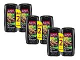 Tahiti Gel de Ducha, Madera Tropical - Pack de 3 x 2 x 250 ml