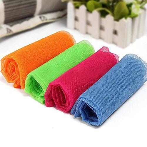 90cm X 30cm Nylon Netz Waschlappen Bad Dusche Körper Waschen Reinigen Peeling Puff Schrubben Tuch Farbe (90cm X 30cm) - 90cm x 30cm