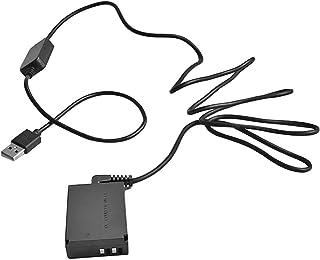 Rouku LP-E12 DR-E12 DC Acoplador Batería Falsa Falsa CA-PS700 Adaptador de Cable USB para cámara Canon EOS M EOS M2 M10 M50