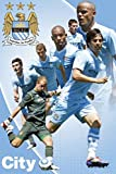 1art1 Fußball - Manchester City, Players 11/12 Poster 91 x