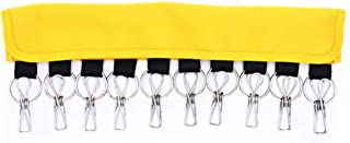 CHUNJIANGSHUI Cap Organizer Hanger Baseball Caps Holder Hats Organizer For Closet Hanger Clip  Color Yellow