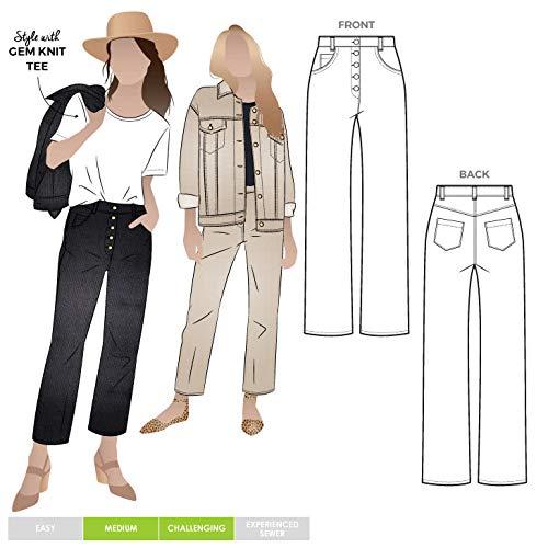 Style Arc naaipatroon - Elwood Jean Sizes 04-16