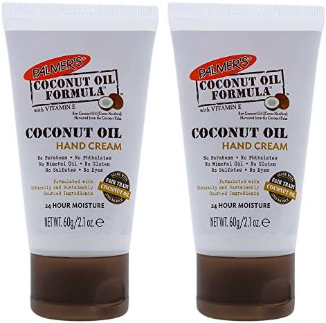 Coconut Oil Hand Cream Pack of 2 by Palmers for Unisex 2 1 oz Cream product image