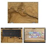 Decalrus - Protective Decal Wood Burl Skin Sticker for Lenovo ThinkPad X1 Yoga (3rd Gen.) (14' Screen) case Cover wrap LEtnkpadX1Yoga3gen-172