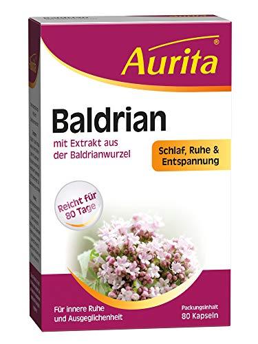 Aurita Baldrian 80 Kapseln, 1er Pack (1 x 28 g)