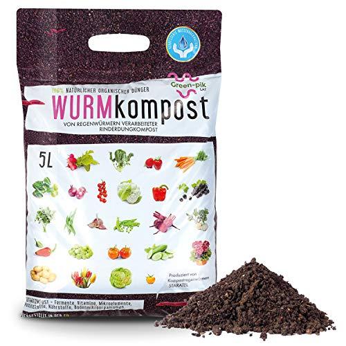 Wurmkompost - Ökologisch reiner Dünger