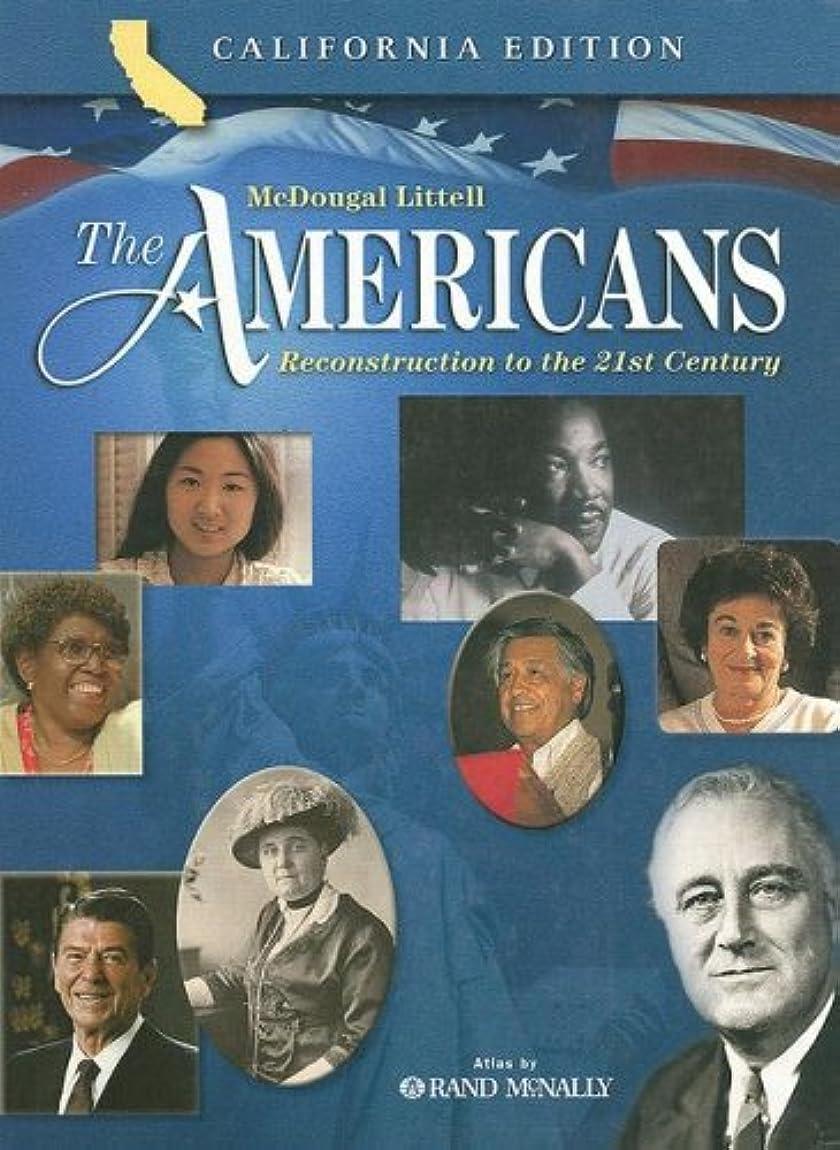 感謝暴露する穿孔するThe Americans Reconstruction to the 21st Century: California Edition