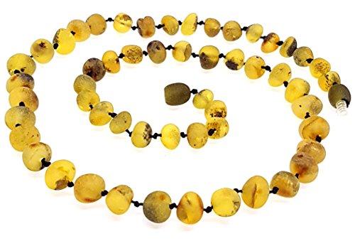 Collar de Ambar Natural - Unisex 50 cm / Ayurveda / ámbar crudo / Joyeria para hombres y mujeres / 100% ámbar del Báltico / / Certificado Genuino Ámbar Báltico