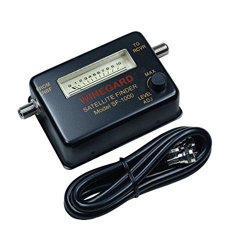 """Winegard SF-1000 Satellite Finder Meter, 7.25"""" x 4.25"""" x 1.75"""""""