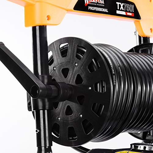 Wilks-USA TX750i Benzin Hochdruckreiniger Quick Connect Düsenaufsätze 8,0 PS - 3950 PSI / 272 bar - 3