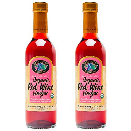 Organic Red Wine Vinegar, (2-Pack)