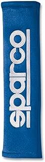 Sparco Set Shoulder Pads - Embroidered logo - Blue