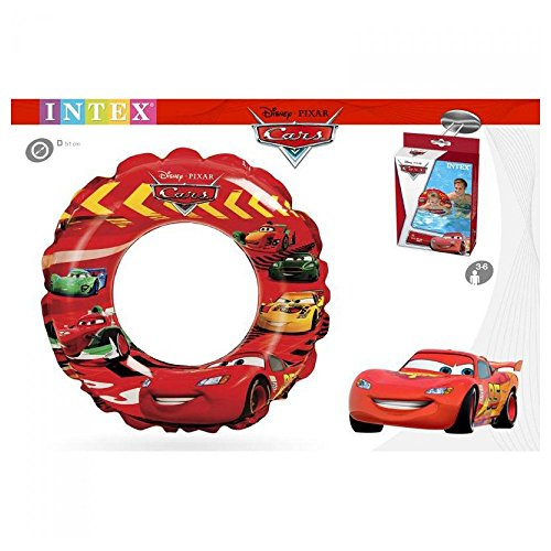 Disney – Flotteur infable Cars Intex 3 ans