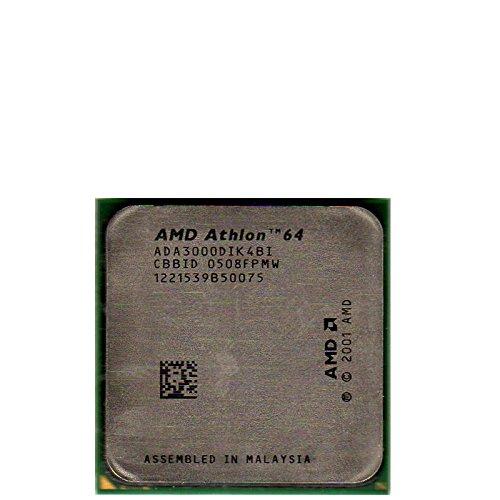 AMD Athlon 64 3000+ 1.8GHz 0.512MB L2 - Procesador (AMD Athlon 64, 1,8 GHz, Socket 939, 90 NM, 3000+, 64 bits)