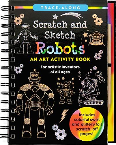 Scratch and Sketch Robots - Trace Along (Scratch & Sketch)