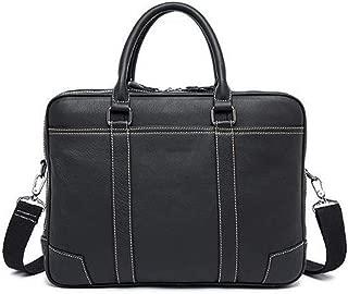 Mens Bag Business First Layer Leather Tote Bag Men's Briefcase Men's Shoulder Messenger Bag Leather Men's Bag High capacity