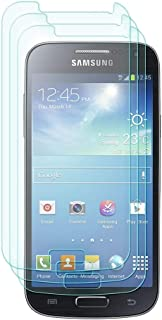 eTECH Collection 3 pieces of Premium Tempered Glass Screen Protector for Samsung Galaxy S4 Mini / i9190 (0.3mm) 9H Hardness / Scratch Proof / Bubble Free / Oleophobic Coating / Transparent Crystal Clear From USA - (Note: This screen protector is for Samsung Galaxy S4 Mini Model, NOT the S4 model. S4 and S4 Mini are two different models)