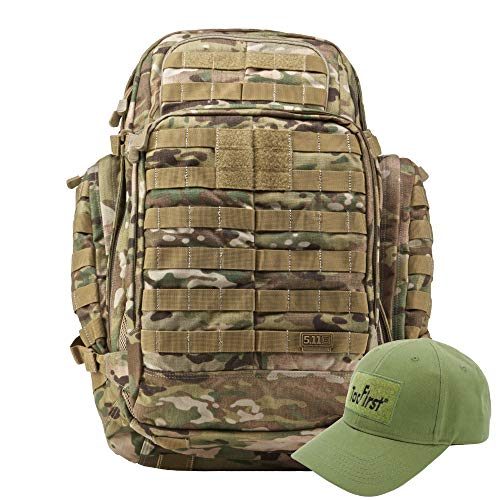 KLK Komplettpaket aus Rush 72 Rucksack und TacFirst Twill Cap (169 Multicam)