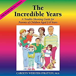 The Incredible Years     A Troubleshooting Guide for Parents of Children Aged 2-8 Years              By:                                                                                                                                 Carolyn Webster-Stratton                               Narrated by:                                                                                                                                 Carolyn Webster-Stratton,                                                                                        Lana Rae Lenz                      Length: 7 hrs and 40 mins     17 ratings     Overall 4.4