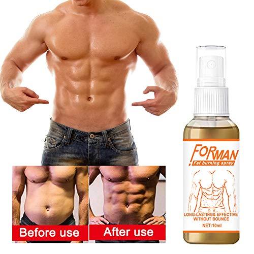 Nargut Body Firmers & Shaper, 10ml Bauchspray Bauchmuskelspray Bauchschlankheitsspray Lazy Slimming Spray