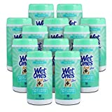 Wet Ones for Pets Hypoallergenic Multi-Purpose Dog Wipes with Vitamins A, C & E, 50 Count - 12 Pack | Fragrance-Free Hypoallergenic Dog Wipes for All Dogs Wet Ones Wipes Multipurpose (FF14365PCS12)