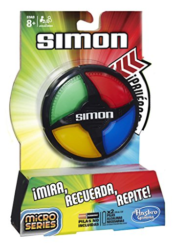 Hasbro Gaming - Simón Micro Series (B0640): Amazon.es: Juguetes y ...