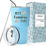 KEDRIAN Grandma Tumbler 30oz, Grandma Gifts, Gifts For Grandma, Grandmother Gifts, Grandma Mug, Grandma Tumbler, Grandma Gifts From Granddaughter, Gift Ideas For Grandma